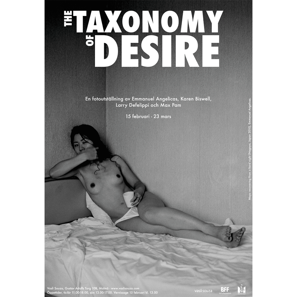 Taxonomy of Desire (Emmanuel Angelicas)70x100cm poster