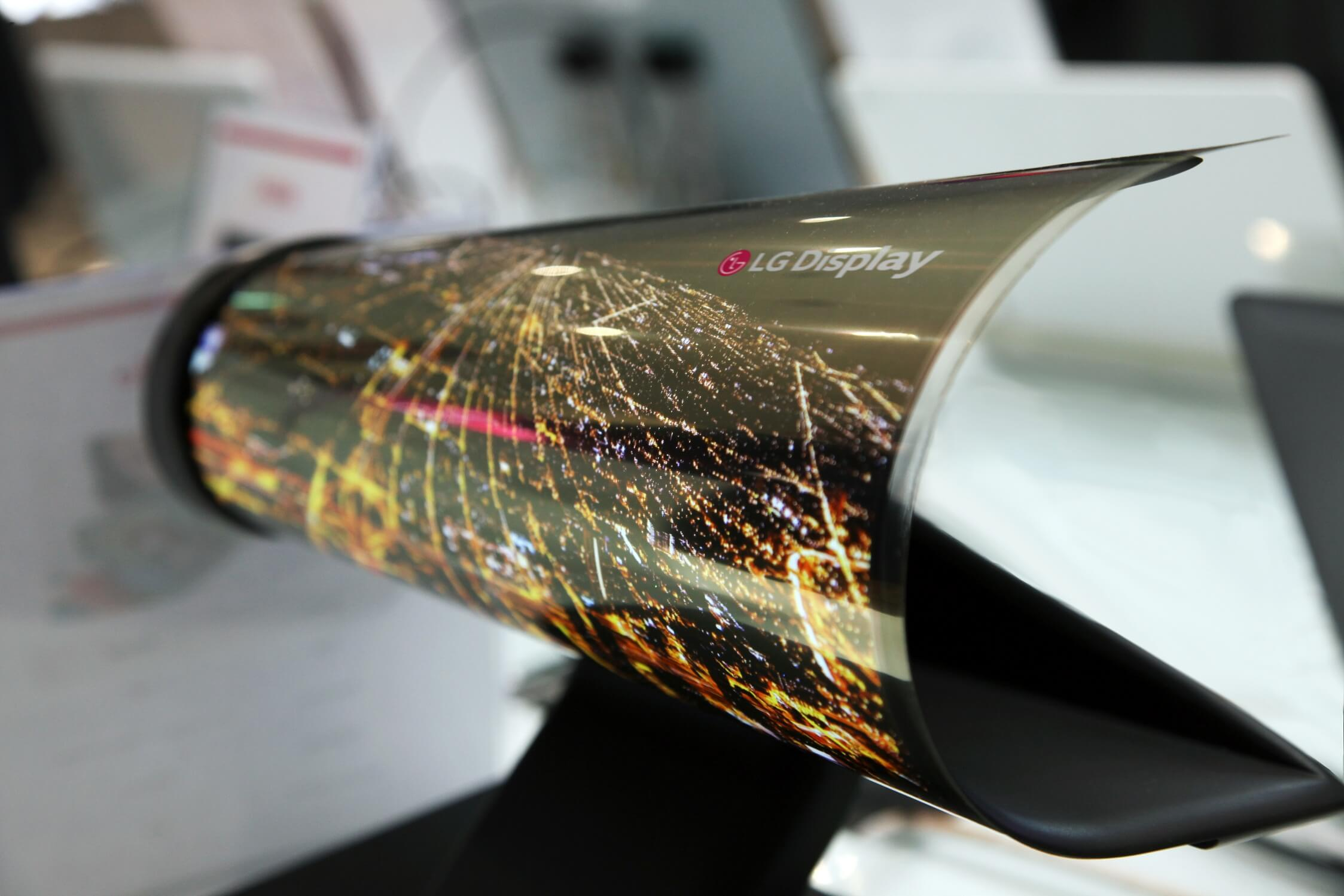 Fully Flexible Screen Prototype