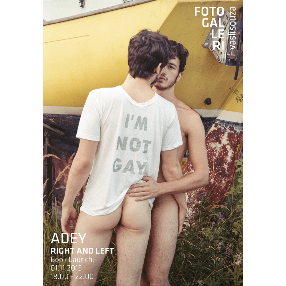 Adey70×100 poster, Right and Left (pre-order)