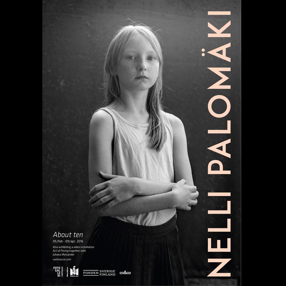 Nelli Palomäki70x100cm poster, About ten