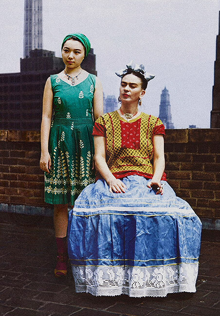 Silin_Liu-Frida_Kahlo&Céline_Liu1-2017-vaslisouza